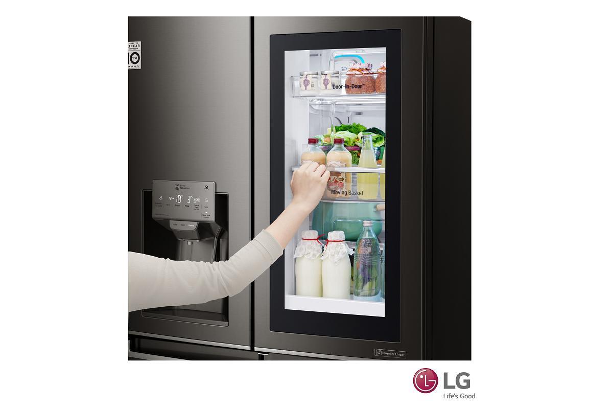 en verano tus alimentos y bebidas frescas con frigorficos de lg