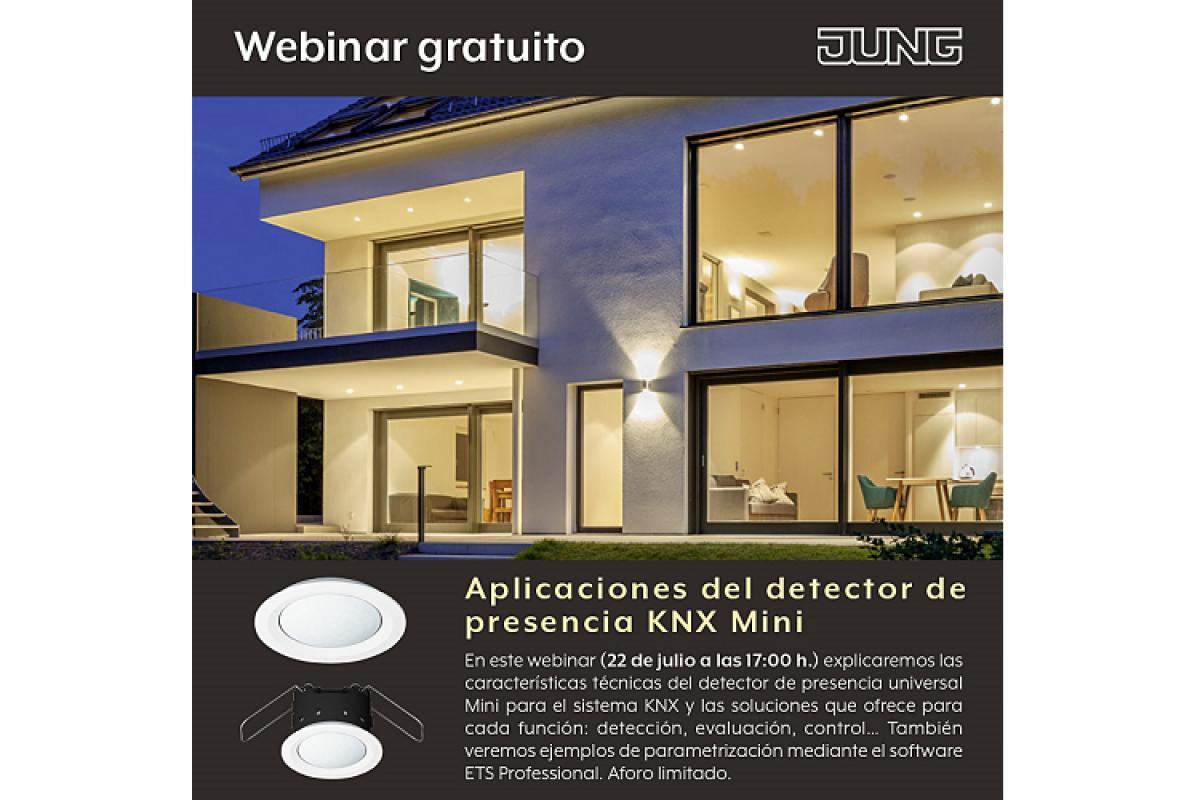 17 webinar de jung aplicaciones del detector de presencia knx mini