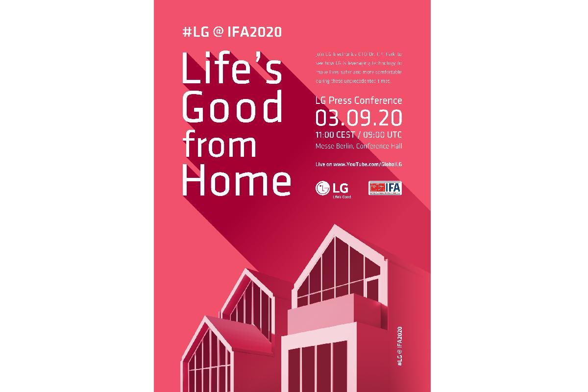 lg prepara un tour virtual para mostrar el hogar del futuro en ifa 2020