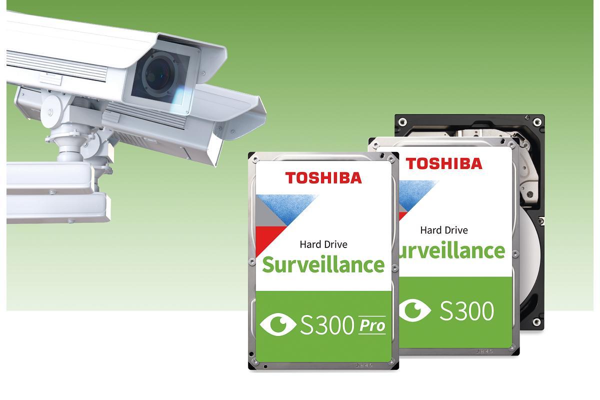 toshiba ampla su serie s300 de discos duros para vigilancia