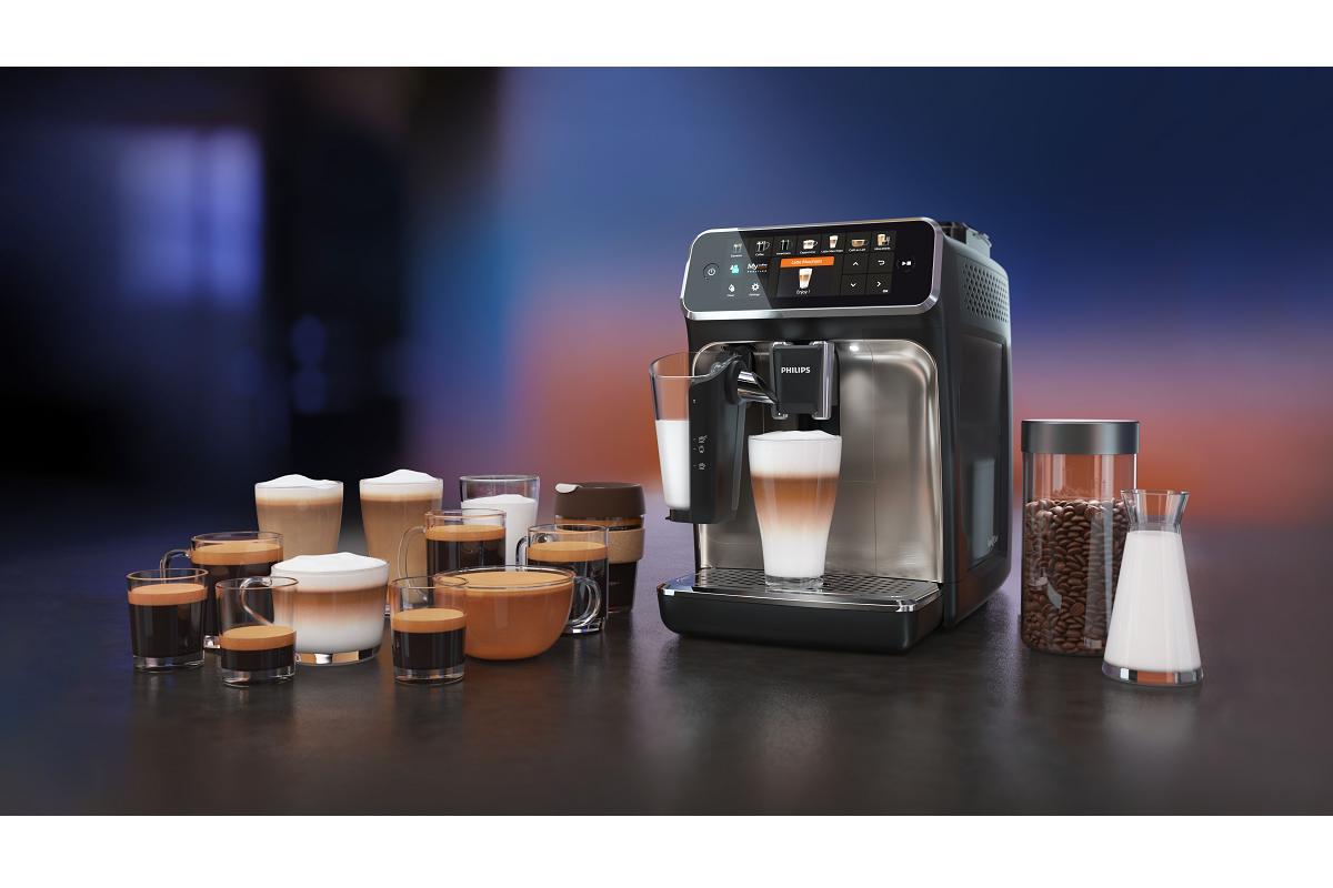 disfruta de un autntico caf personalizado con philips series 5400