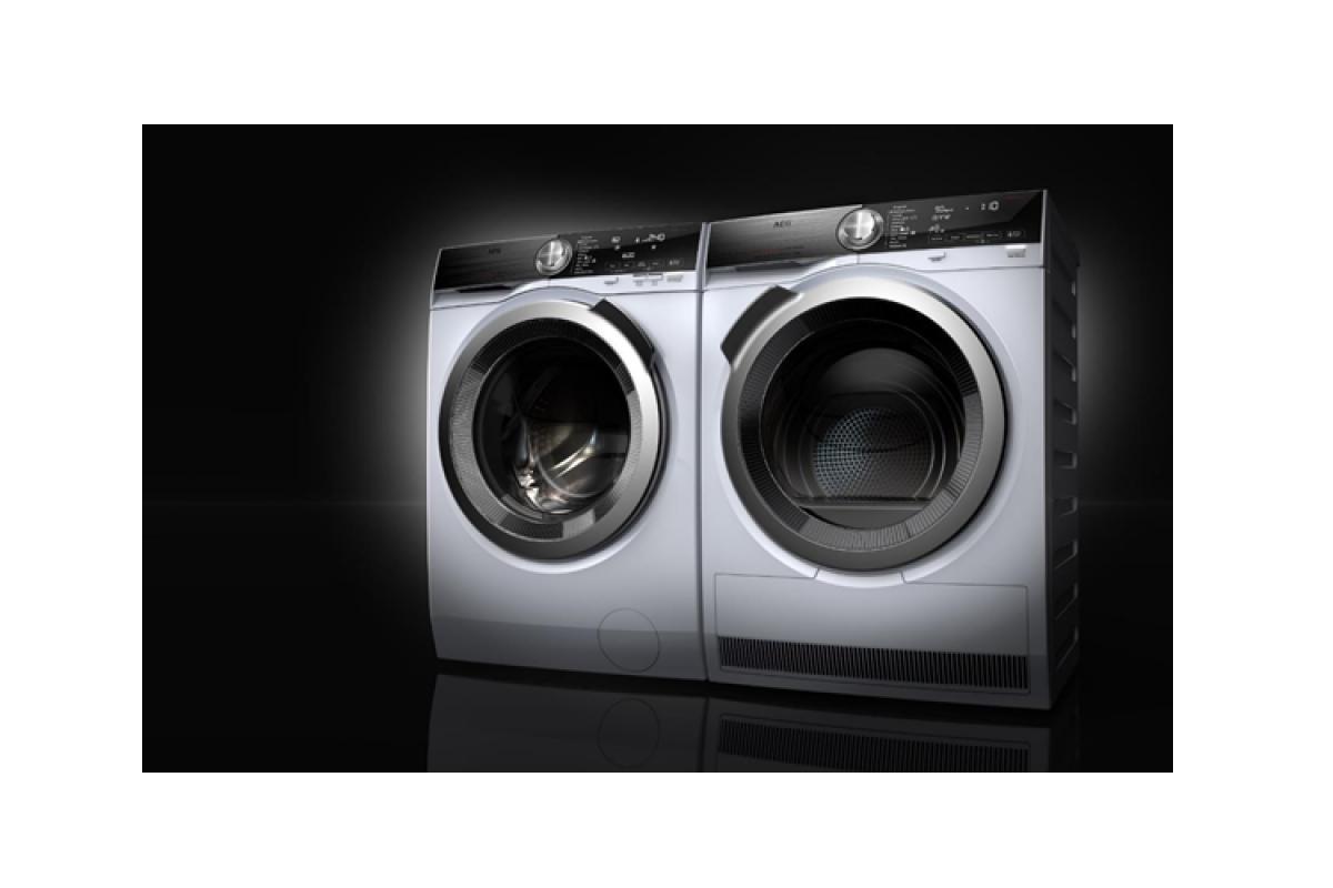 las lavadoras y secadoras de aeg se sincronizan para una colada perfecta