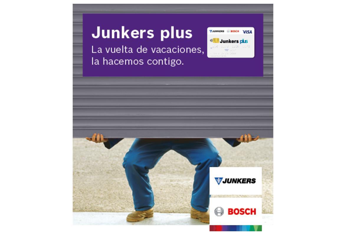 nueva promocin de junkers para premiar la instalacin de calderas tras las vacaciones