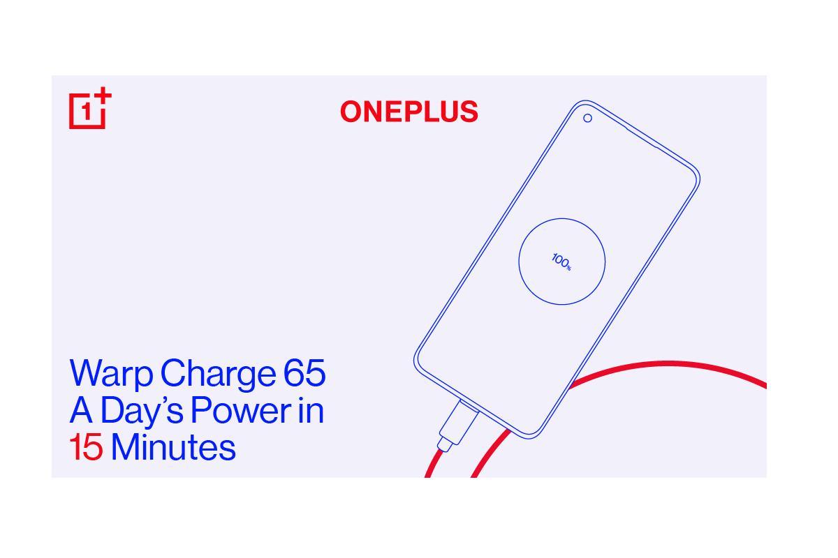 oneplus 8t batera cargada en poco ms de media hora con warp charge 65