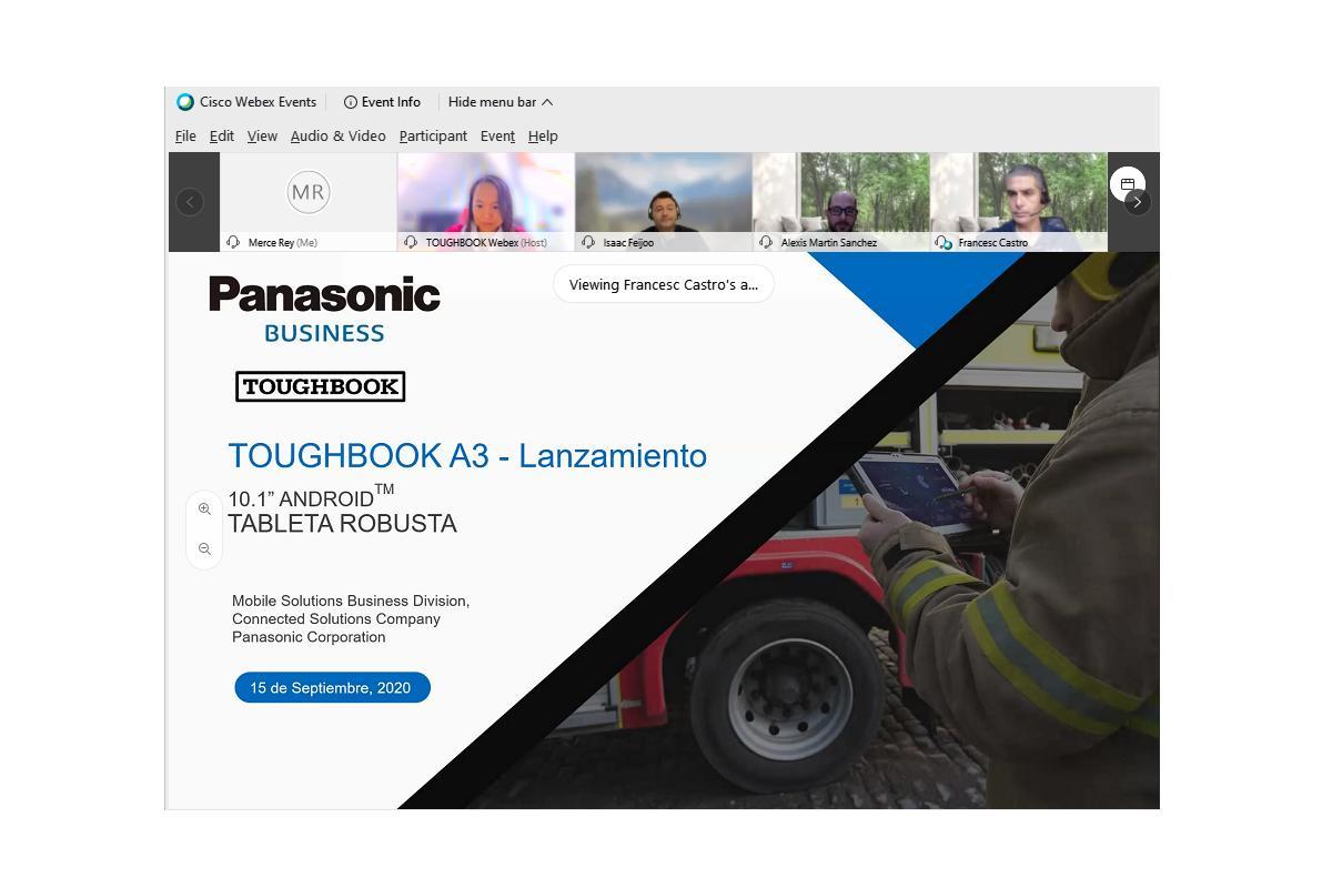 panasonic toughbook a3 la tablet robusta y de gran autonoma para empresas