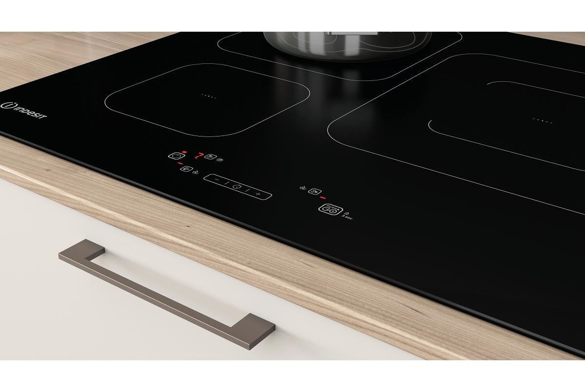 placas pushampgo de indesit simplifica el proceso de cocinado y gana en rapidez