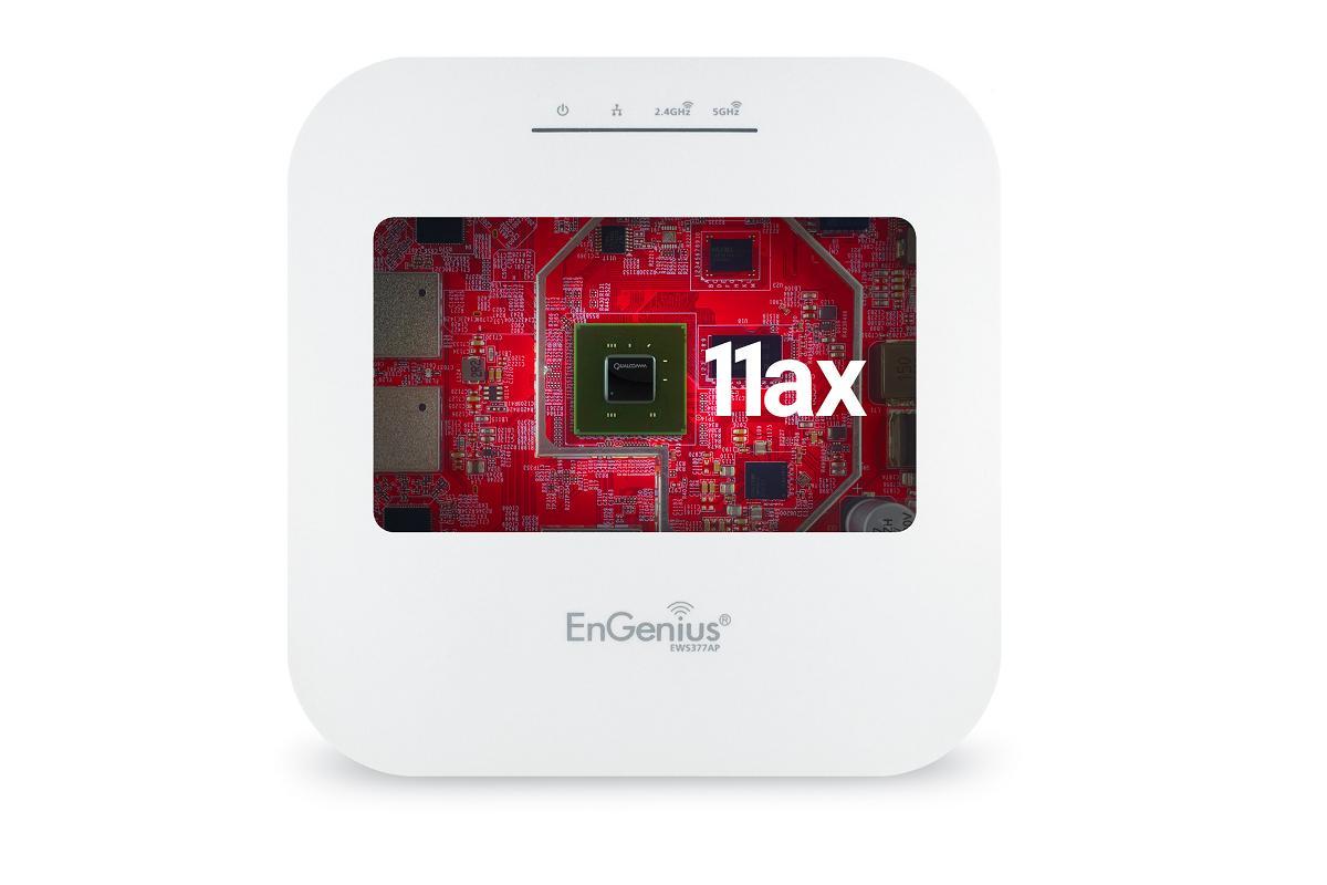 ews377 el punto de acceso wifi 6 4x4 de engenius para empresas y retail llega a espaa