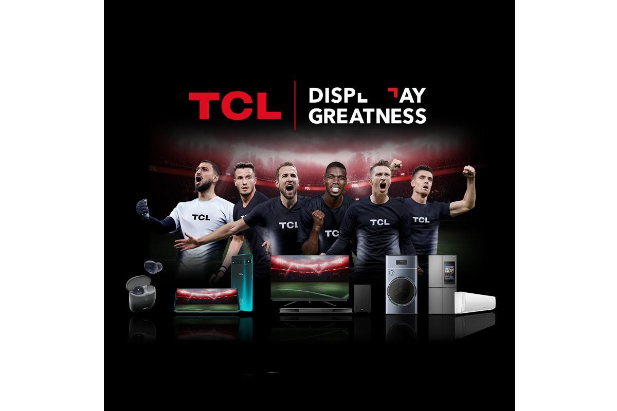 tcl rene a estrellas futbolsticas para dar mayor visibilidad a la marca