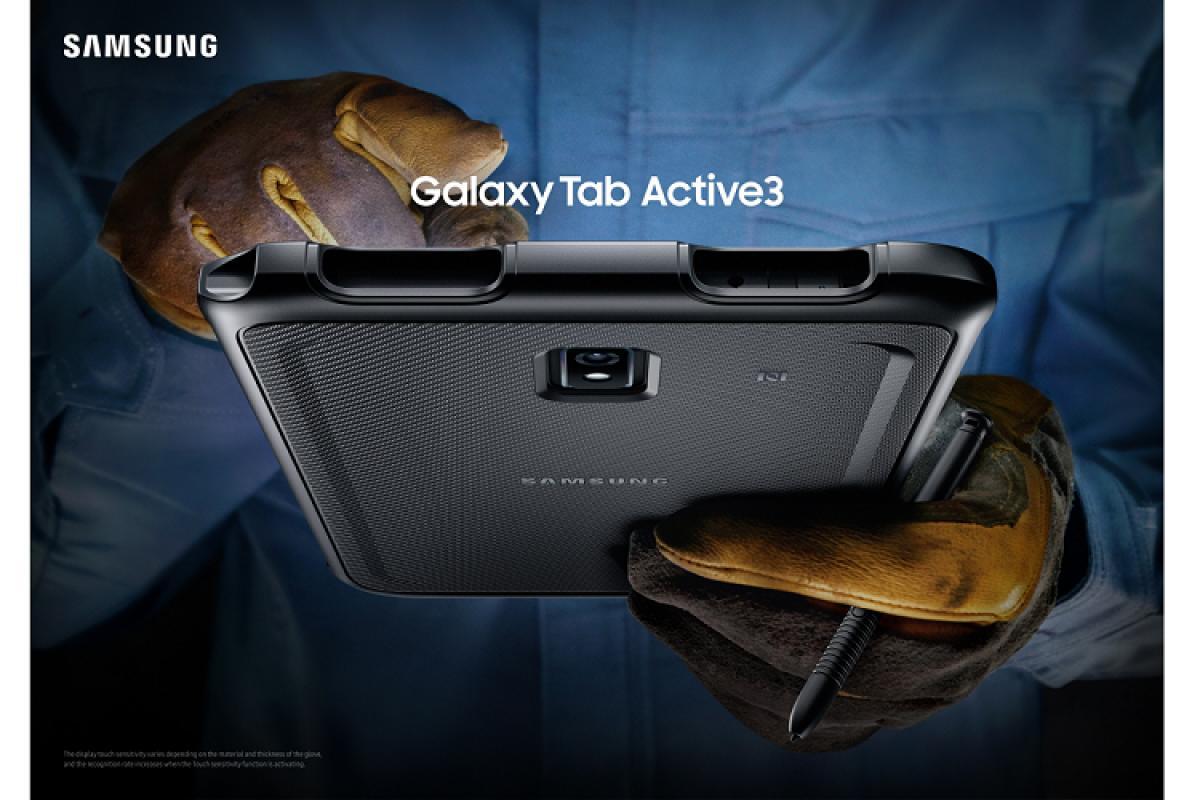 samsung galaxy tab active3 la tablet dealta resistencia para entornos complejos