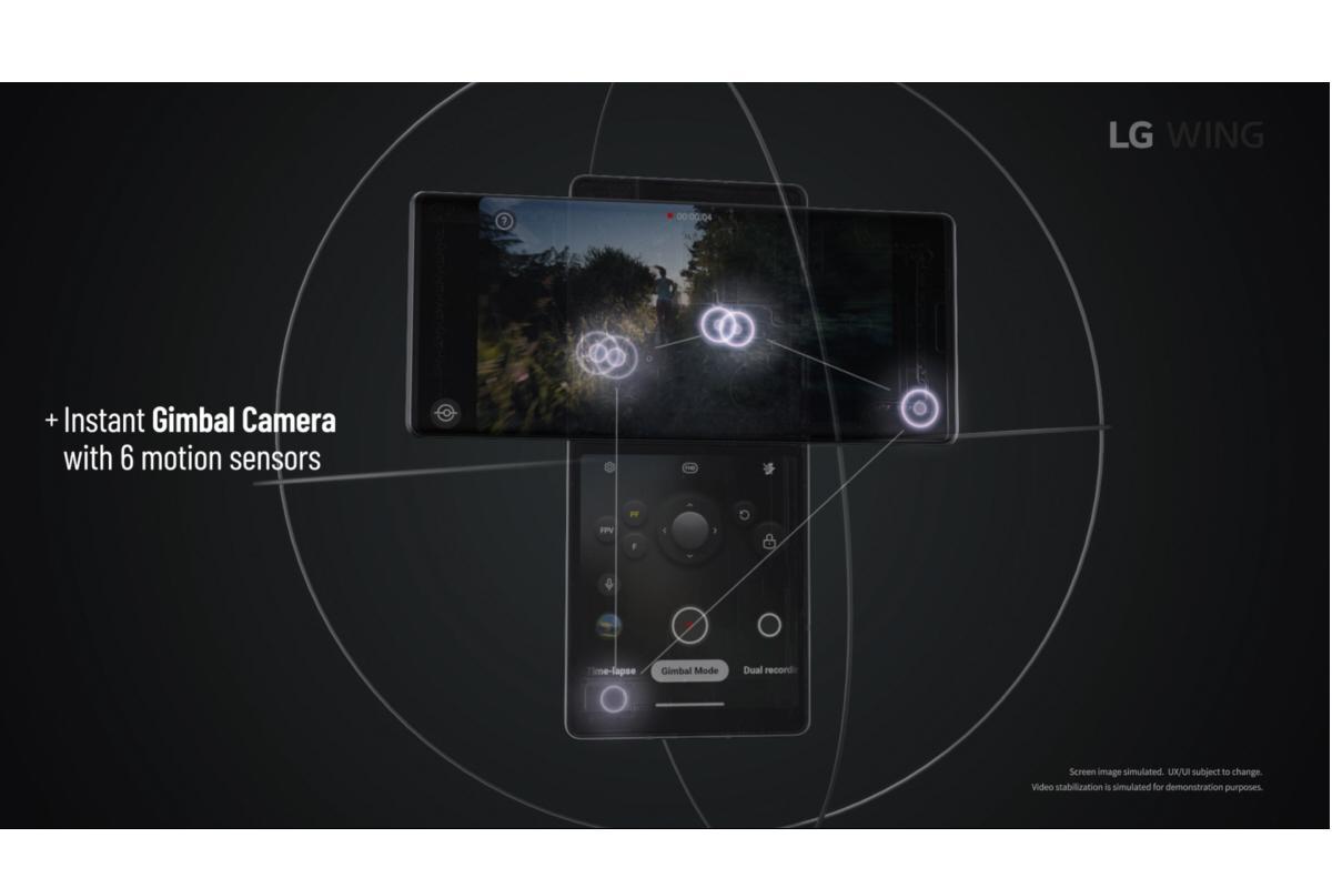 lg wing el smartphone con doble pantalla giratoria y cmara popup