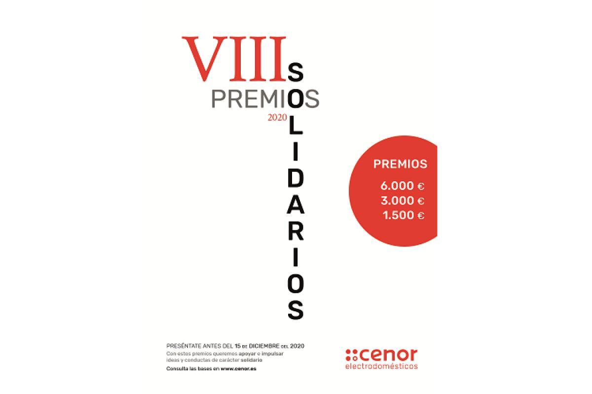 abierta la convocatoria de los viii premios solidarios cenor electrodomsticos