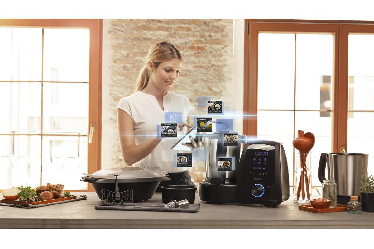 mambo 10090 y mambo 10070 de cecotec sus primeros robots de cocina con app