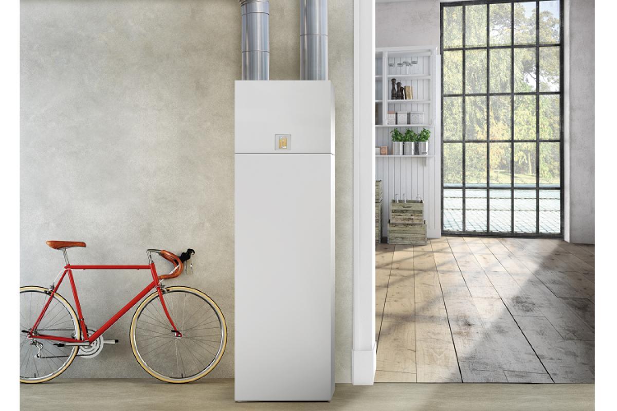 nueva unidad de ventilacin de panasonic ahorra en espacio y en consumo