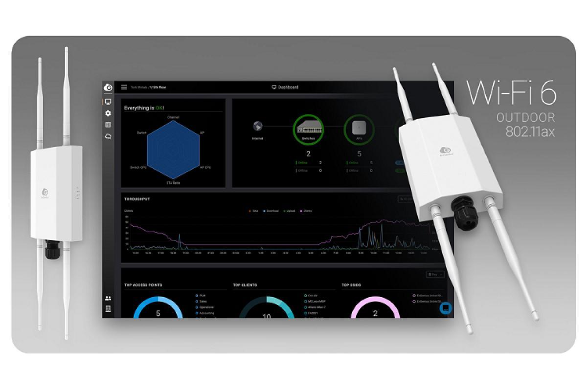 nuevo punto de acesso wifi 6 para exteriores de engenius