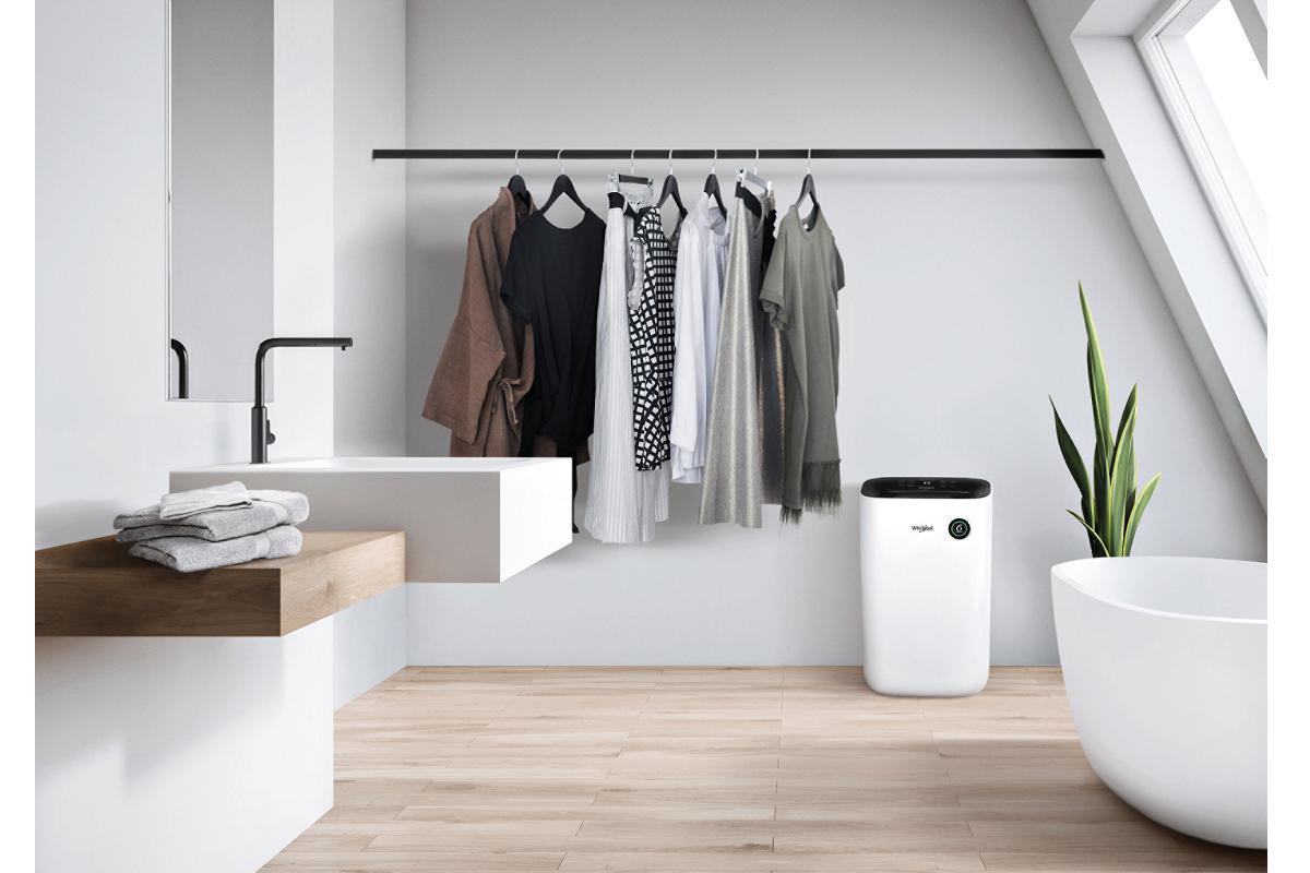 seca tu ropa en tiempo rcord con el deshumidificador de whirlpool