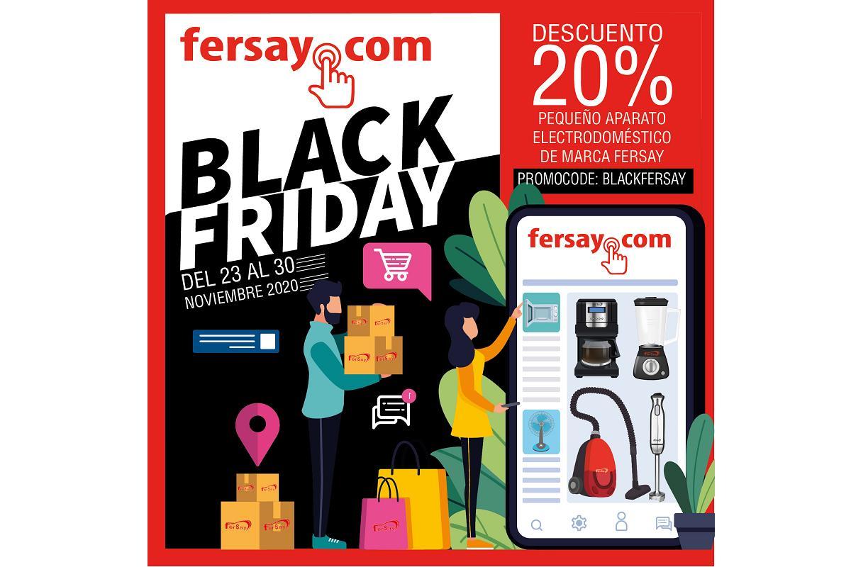 fersay celebra el black friday con una triple campaa de descuentos