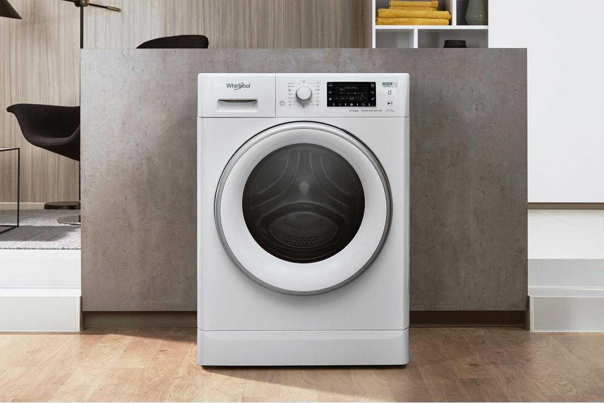lavasecadora fresh care de gran capacidad de whirlpool