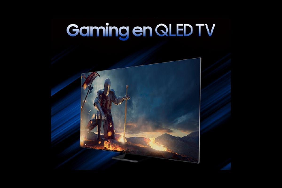 samsung en sintona con la industria gaming de la mano de sus televisores qled