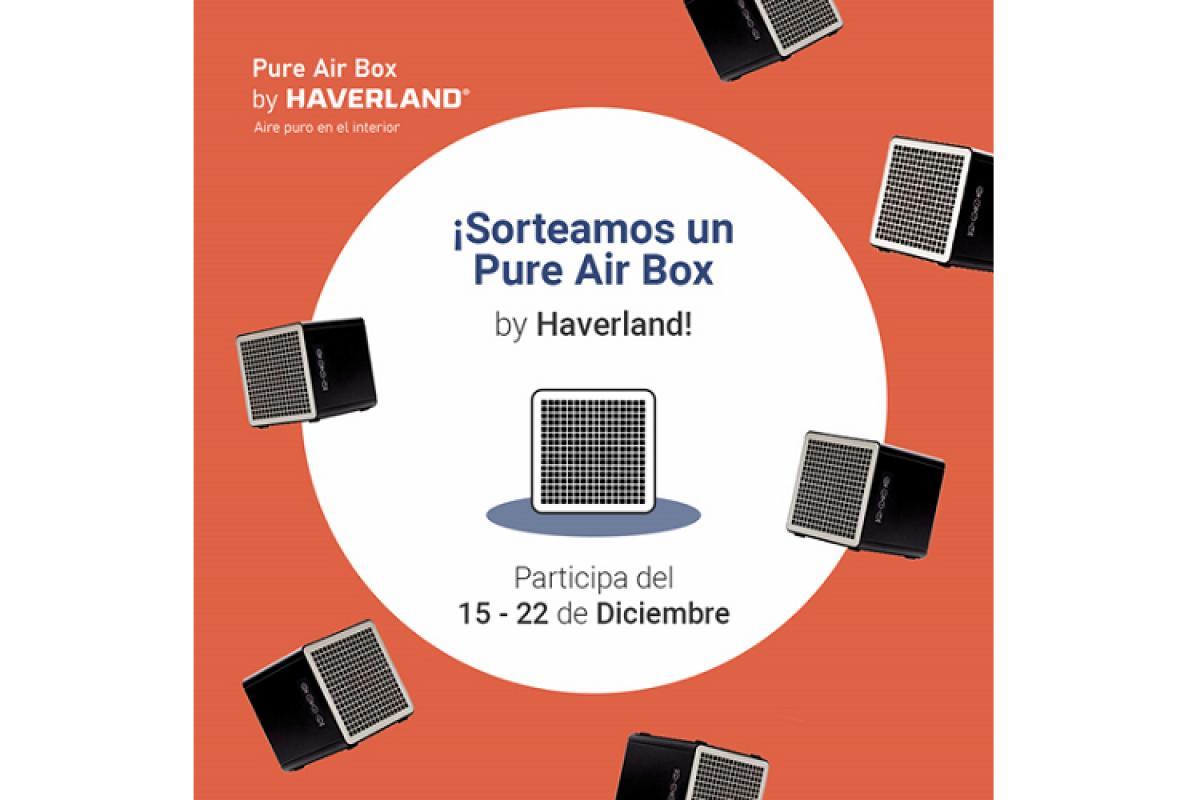 haverland pone en marcha un sorteo de pure air box en sus redes sociales