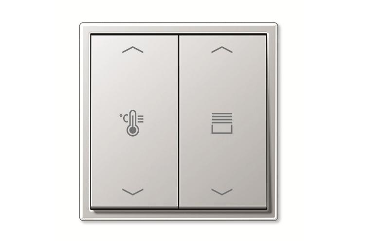 knx f 10 de jung el pulsador equipado con inteligencia y estilo