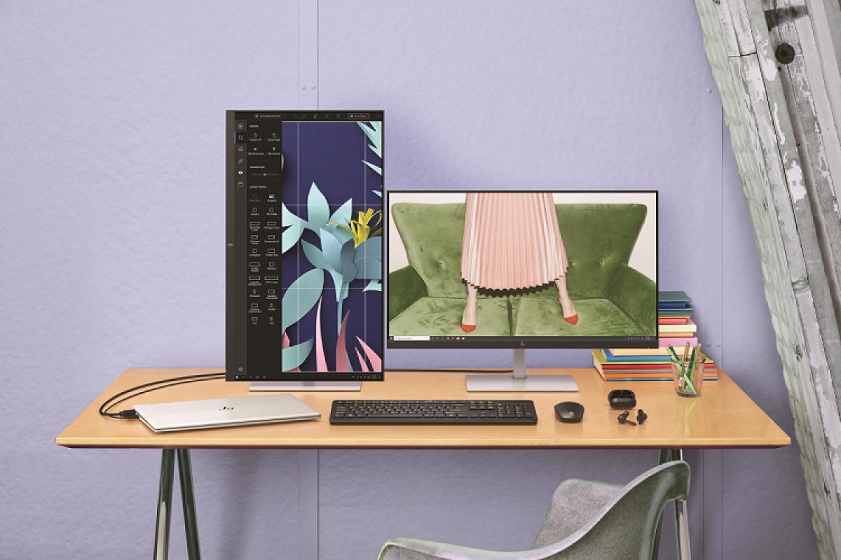 hp presenta hp u28 4k hdr su nuevo monitor dirigido a creadores