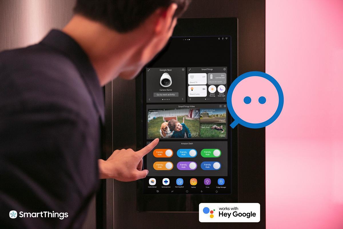 samsung smartthingssuptmsup se asocia con google para mejorar el hogar inteligente