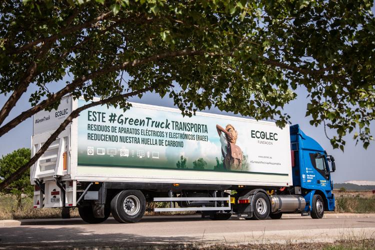 fundacin ecolec pone en valor los greentruck para frenar las emisiones de co2