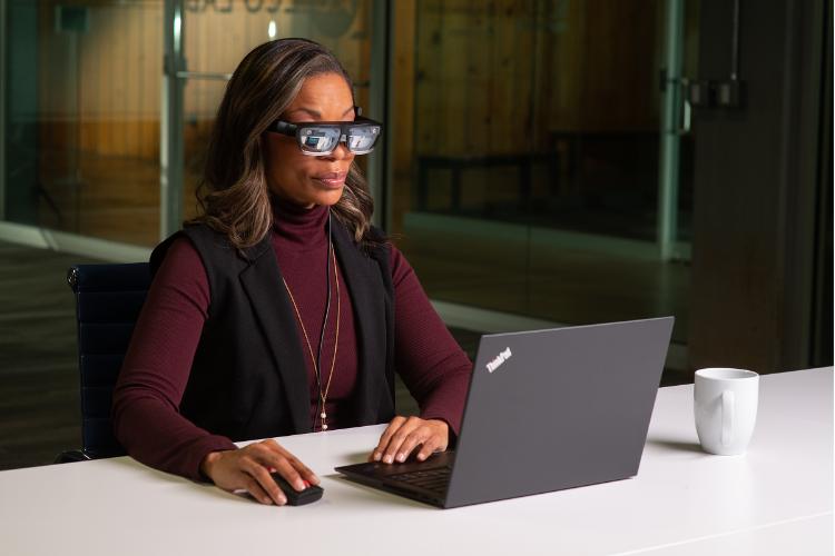 lenovo thinkreality a3 las gafas inteligentes para el entorno empresarial