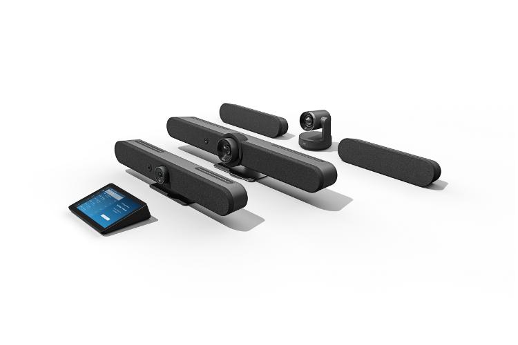 logitech adapta sus soluciones para videoconferencia segn reunin