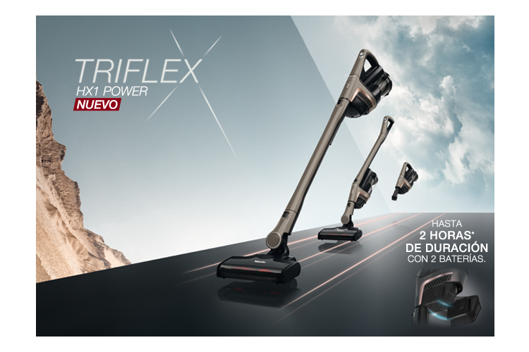 triflex hx1 power protagoniza la nueva campaa de miele