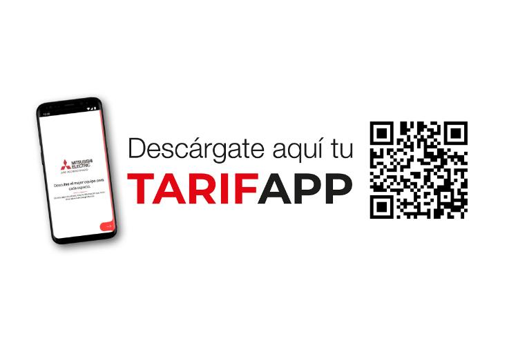 tarifapp la nueva aplicacin de mitsubishi electric para instaladores