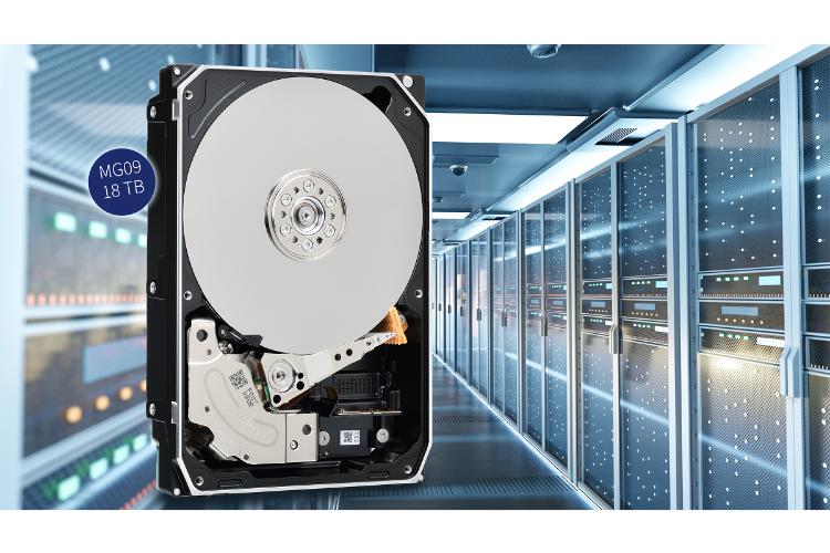 toshiba presenta su nueva lnea de discos duros mg09 con 18 tb