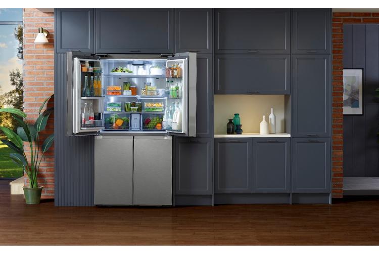 samsung presenta un frigorfico de 4 puertas con gran personalizacin