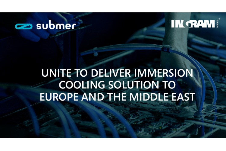 submer e ingram micro firman un acuerdo de distribucin