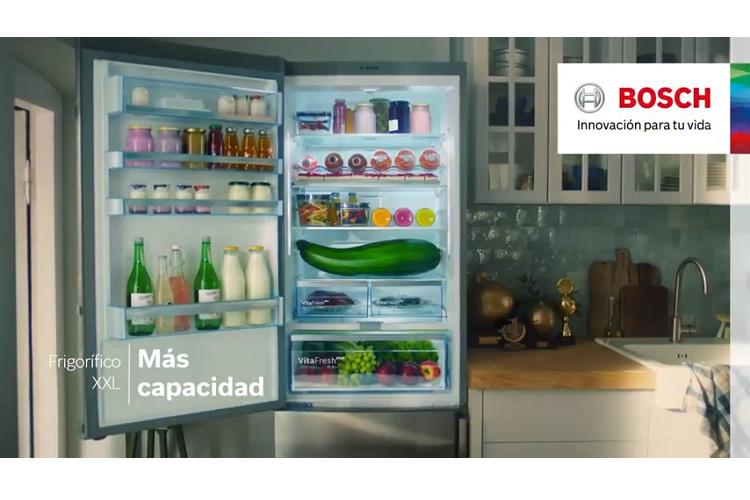 los frigorficos combinados xxl protagonizan la nueva campaa de likeabosch