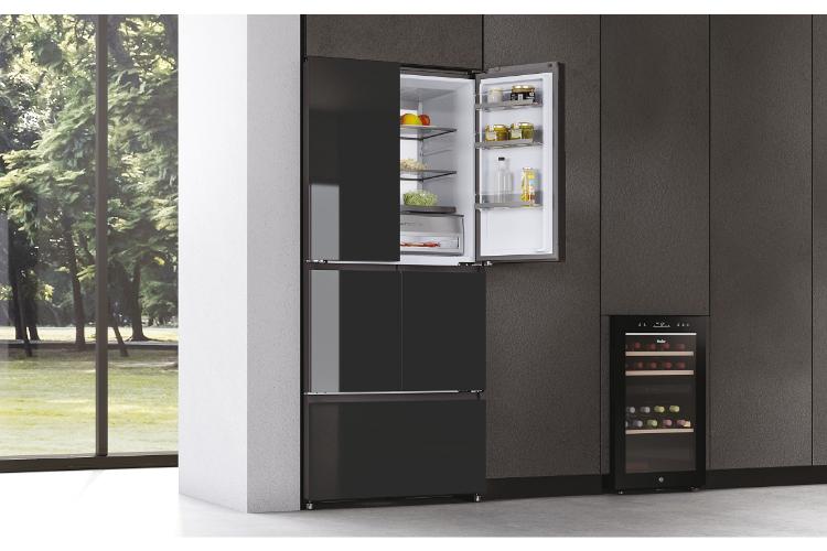 haier lanza sus frigorficos f de 5 puertas y con inhibidor de bacterias