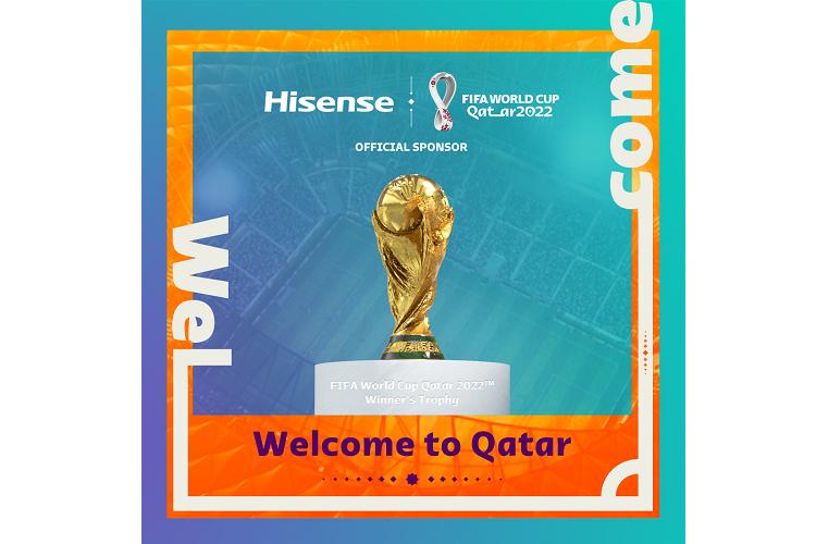 hisense nuevo patrocinador oficial del mundial de ftbol qatar 2022