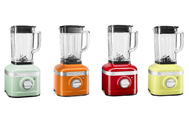 kitchenaid ofrece una gama de batidoras de vaso a todo color