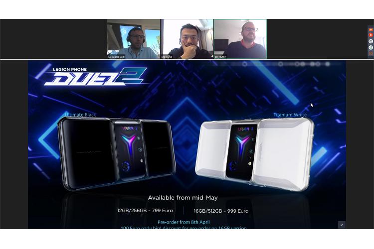 lenovo legion phone duel 2 el mvil gaming con doble ventilador y 8 teclas virtuales