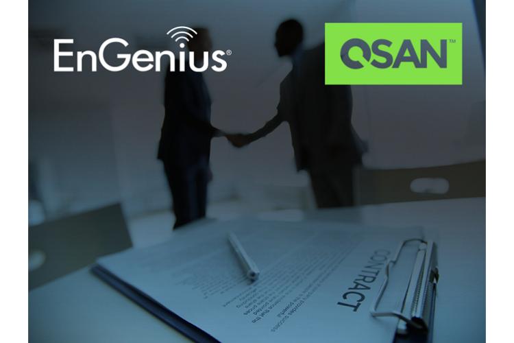 engenius dota de conectividad a xcubenxt y cubenas de qsan technology