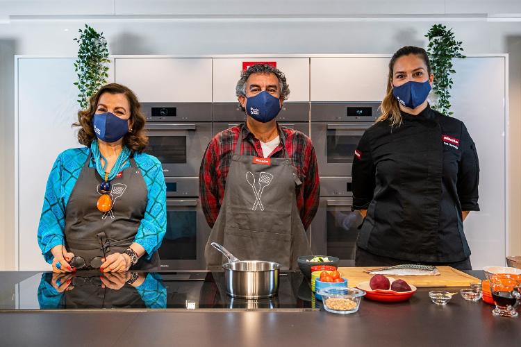 miele y accin contra el hambre en el primer curso de cocina solidaria