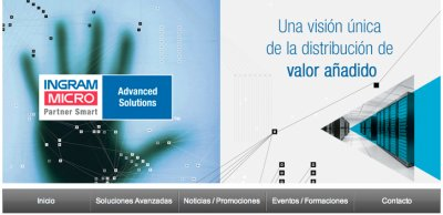 advanced solutions presenta su  nueva site dentro de la recin estrenada web de ingram micro