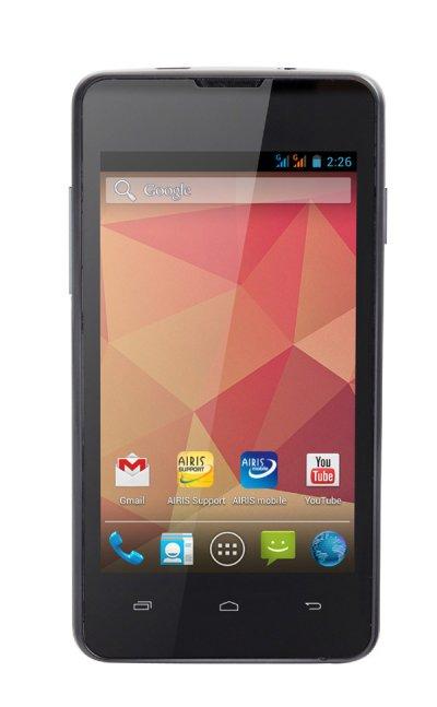 airis combina la ltima versin de android con un procesador dual core en su ltimo smartphone