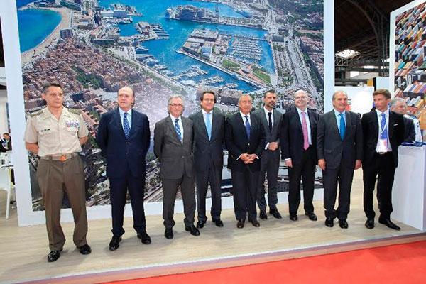 el alcalde de barcelona inaugura el sil 2015