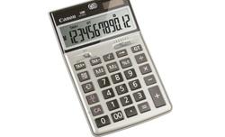 canon ampla con seis modelos su gama de calculadoras
