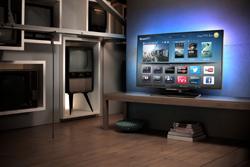 nueva serie de televisores philips smart tv 8008