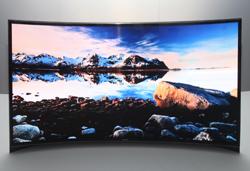samsung presenta la primera tv oled curvada en ces 2013
