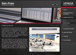 nuevo dvd interactivo de los sistemas vrf gama set free de hitachi