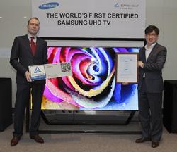 Samsung S9 UHD: Calidad de Imagen Superior reconocida por las entidades de la industria