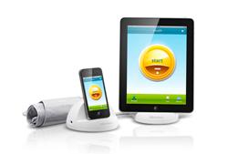 medisana lanza el primer tensimetro para dispositivos apple
